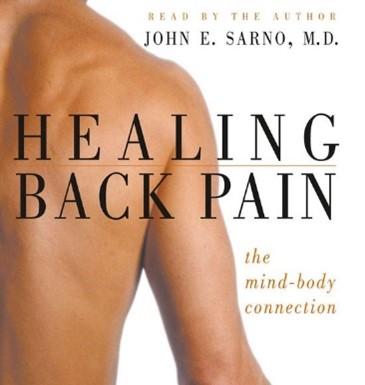boekcover Healing back pain van Dr Sarno